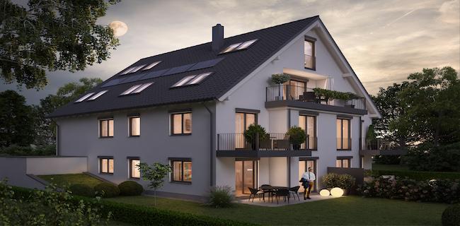 IMMOBILIEN SCHNEIDER – Fasanerie – Luxuriöse Penthousewohnung über zwei Ebenen mit Südterrasse