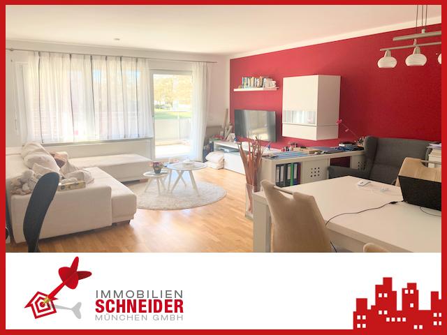 IMMOBILIEN SCHNEIDER – BERG AM LAIM – wunderschöne 2 Zimmer Wohnung mit Parkett, Südbalkon und EBK