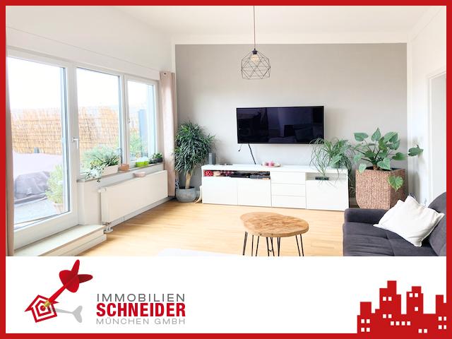 IMMOBILIEN SCHNEIDER – BERG AM LAIM – 2 Zimmer Wohnung mit Süd-Balkon, Parkett, EBK