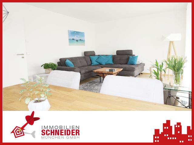 IMMOBILIEN SCHNEIDER – ERBBAURECHT – schöne, neuwertige 2 Zi.-Wohnung mit Einbauküche & West-Balkon