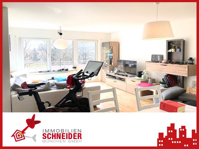 IMMOBILIEN SCHNEIDER – Berg am Laim – wunderschöne 2 Zimmer Wohnung mit Süd-Balkon, Parkett