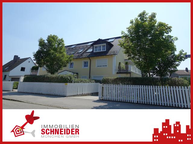 IMMOBILIEN SCHNEIDER – MOOSACH – tolle 2 Zi.-DG-Whg. zzgl. Studio & West-Terrasse für 3 Jahre!