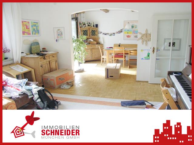 IMMOBILIEN SCHNEIDER – Pasing – schöne 3,5 Zimmer-Garten-Wohnung