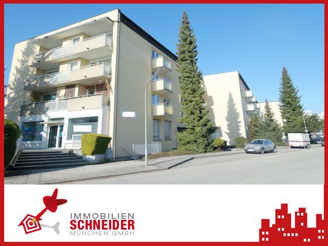 IMMOBILIEN SCHNEIDER – Balham- neu renoviert 2 Zi.-Hochparterre-Whg. mit Parkett und Süd-Balkon