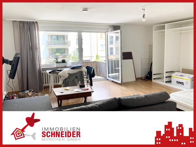 IMMOBILIEN SCHNEIDER – MAXVORSTADT – tolles 1-Zimmer-Apartment in bester Lage.