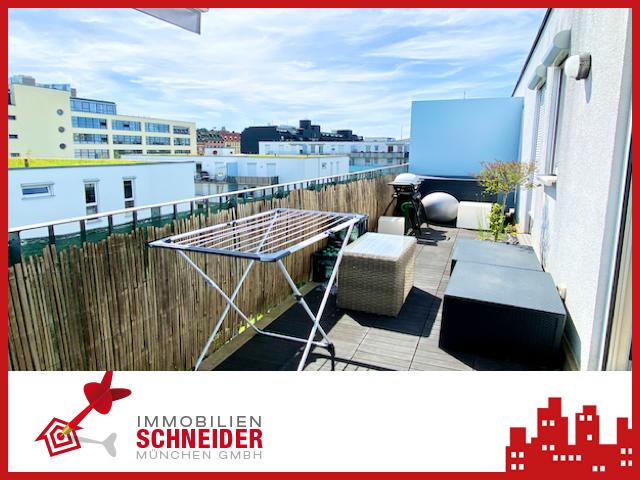 IMMOBILIEN SCHNEIDER – HACKERHÖFE – Traumhaft schöne 2 Zi. Wohnung mit Parkett, Süd-Balkon