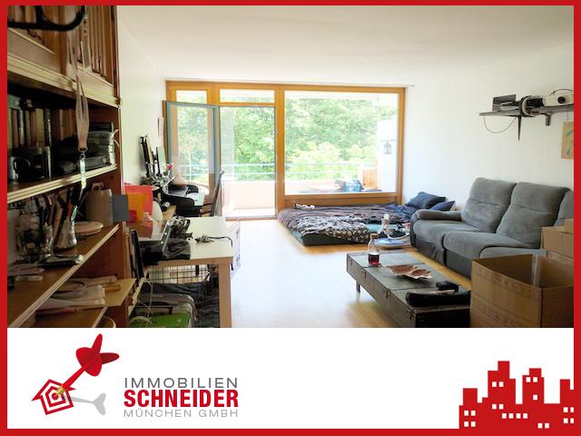 IMMOBILIEN SCHNEIDER – Bogenhausen – Schöne 1 Zimmer Wohnung mit Balkon und Parkett