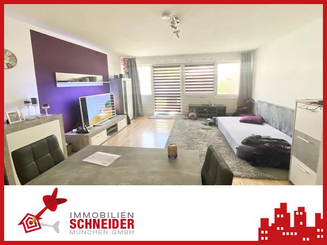 IMMOBILIEN SCHNEIDER – TAUFKIRCHEN- Schöne 1 Zimmer Süd-Garten Whg mit Hobbyraum und Laminatboden