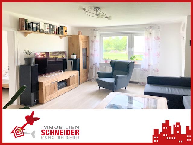 IMMOBILIEN SCHNEIDER – Lerchenau Ost Schöne 3 Zi-Wohnung mit Wohnküche und Balkon