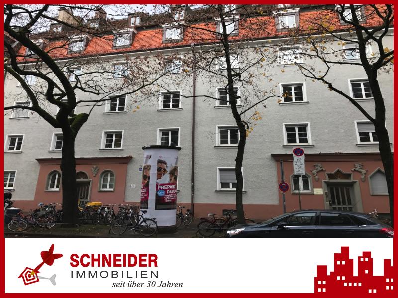IMMOBILIEN SCHNEIDER – SENDLING Wunderschöne 2,5 Zimmer Altbau Whg.