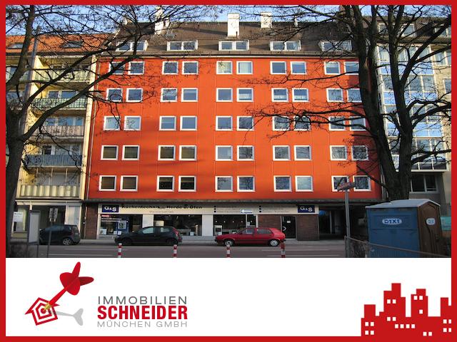 IMMOBILIEN SCHNEIDER – MAXVORSTADT – Wunderschöne 2-Zimmer Wohnung in bester Lage mit EBK.