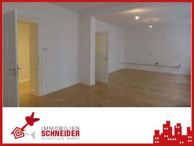 IMMOBILIEN SCHNEIDER – Lehel – Traumhaft schöne 3,5 Zimmer Altbauwohnung