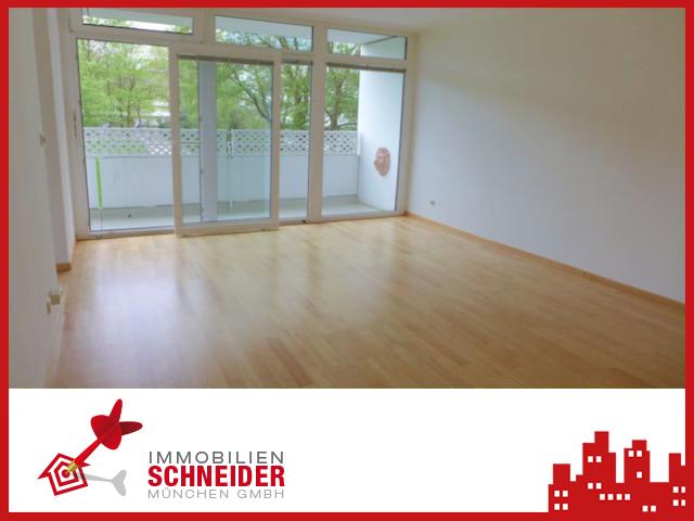 IMMOBILIEN SCHNEIDER – schöne, gepflegte 3 Zimmer-Wohnung mit West-Balkon und Einbauküche