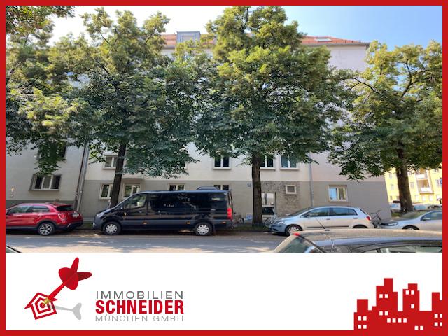 IMMOBILIEN SCHNEIDER – SCHWABING – Bezugsfreie 3,5 Zimmer Wohnung mit Balkon und EBK