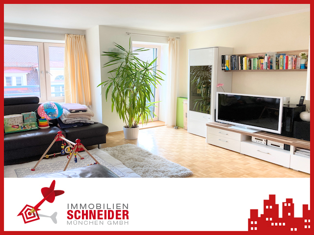 IMMOBILIEN SCHNEIDER – SCHWABING – großzügige, helle 3 Zi.-Whg. mit zwei Balkonen
