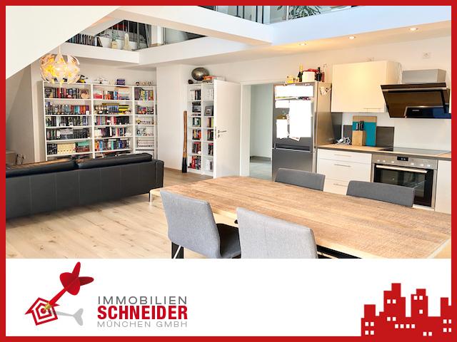 IMMOBILIEN SCHNEIDER – SENDLING – traumhaft schöne 2 Zimmer DG Whg. mit Galerie